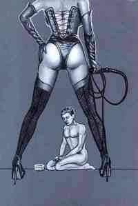 slave leashed